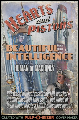Beautiful Intelligence pulp style...